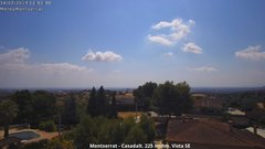 view from Montserrat - Casadalt (Valencia - Spain) on 2019-07-14