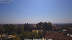 view from Montserrat - Casadalt (Valencia - Spain) on 2019-07-18