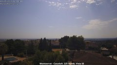 view from Montserrat - Casadalt (Valencia - Spain) on 2019-07-22