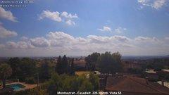 view from Montserrat - Casadalt (Valencia - Spain) on 2019-08-16