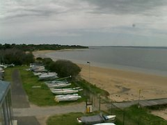view from Cowes Yacht Club - West on 2018-10-02