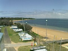view from Cowes Yacht Club - West on 2018-11-26