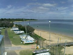 view from Cowes Yacht Club - West on 2018-12-05