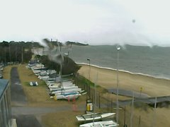 view from Cowes Yacht Club - West on 2019-02-12