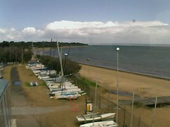 view from Cowes Yacht Club - West on 2019-02-13