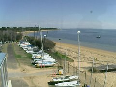 view from Cowes Yacht Club - West on 2019-04-16