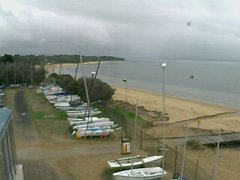 view from Cowes Yacht Club - West on 2019-04-24