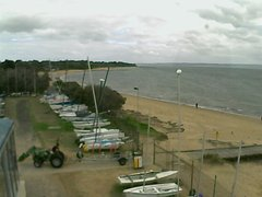 view from Cowes Yacht Club - West on 2019-04-25