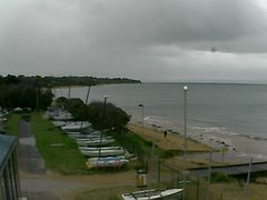 view from Cowes Yacht Club - West on 2019-06-03