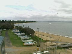 view from Cowes Yacht Club - West on 2019-06-05