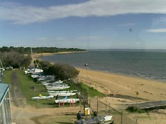 view from Cowes Yacht Club - West on 2019-06-09