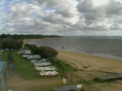 view from Cowes Yacht Club - West on 2019-06-10