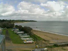view from Cowes Yacht Club - West on 2019-08-11