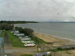 view from Cowes Yacht Club - West on 2019-08-14