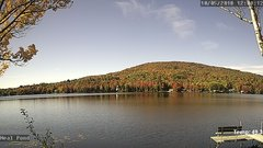 view from Neal Pond on 2018-10-05