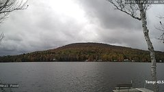 view from Neal Pond on 2018-10-13