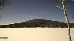 view from Neal Pond on 2018-12-08