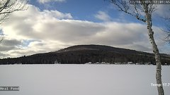view from Neal Pond on 2018-12-10