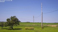 view from Ewing, Nebraska (west view)   on 2018-07-16