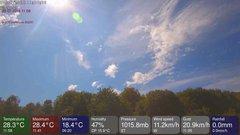 view from MeteoLive webcam SEREMANGE ERZANGE FR57 on 2018-07-30