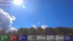 view from MeteoLive webcam SEREMANGE ERZANGE FR57 on 2018-08-10