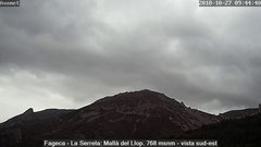 view from Fageca - El Comtat on 2018-10-22