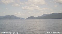 view from Diamond Point - Lake George, NY on 2018-08-20