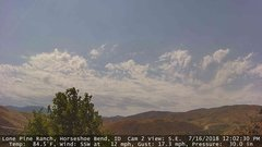 view from Horseshoe Bend, Idaho CAM2 on 2018-07-16