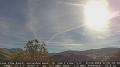 view from Horseshoe Bend, Idaho CAM2 on 2018-11-13
