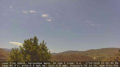 view from Horseshoe Bend, Idaho CAM2 on 2019-07-14