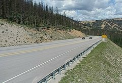 view from 4 - Highway 50 Road Conditions on 2018-07-23