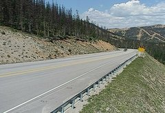 view from 4 - Highway 50 Road Conditions on 2018-08-06