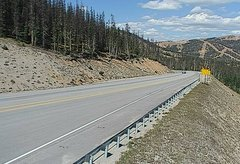 view from 4 - Highway 50 Road Conditions on 2018-09-16