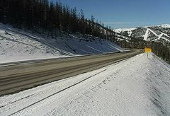view from 4 - Highway 50 Road Conditions on 2018-11-15