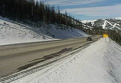 view from 4 - Highway 50 Road Conditions on 2018-11-16