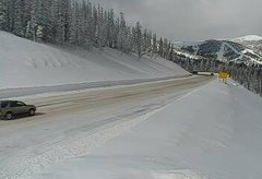 view from 4 - Highway 50 Road Conditions on 2019-02-17