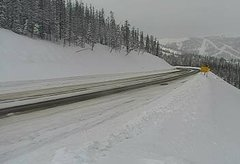 view from 4 - Highway 50 Road Conditions on 2019-02-18