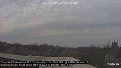 view from University Place Apartments - South Weather on 2019-02-13