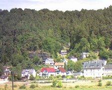view from Webcam in Bad Schandau, Krippen & Postelwitz on 2018-08-12
