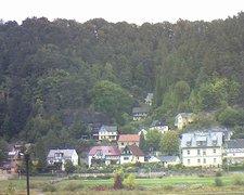 view from Webcam in Bad Schandau, Krippen & Postelwitz on 2018-10-01