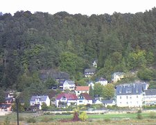 view from Webcam in Bad Schandau, Krippen & Postelwitz on 2018-10-04