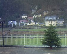 view from Webcam in Bad Schandau, Krippen & Postelwitz on 2018-12-13