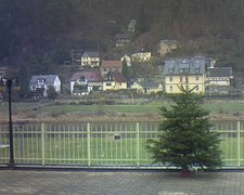 view from Webcam in Bad Schandau, Krippen & Postelwitz on 2018-12-17