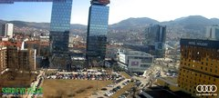 view from Sarajevo on 2019-03-06
