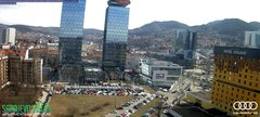 view from Sarajevo on 2019-03-08