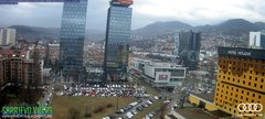 view from Sarajevo on 2019-03-11