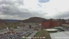 view from Highland Park Hose Co. #2 on 2019-04-15