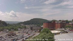 view from Highland Park Hose Co. #2 on 2019-07-16