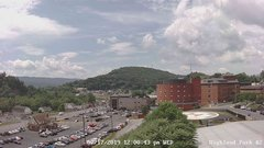 view from Highland Park Hose Co. #2 on 2019-07-17