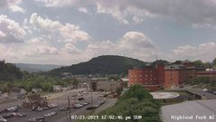 view from Highland Park Hose Co. #2 on 2019-07-21